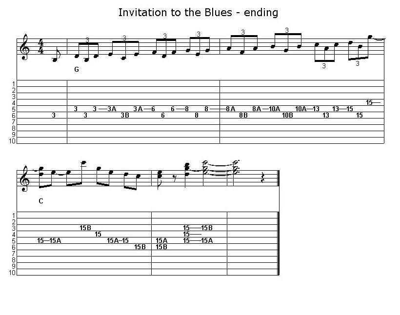 E9 pedal steel guitar solo invitation to the blues doug beaumier invitation3 stopboris Images